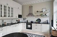 Угловая Кухня в скандинавском стиле, фото 1