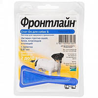 Капли Merial FRONTLINE Spot-On от блох и клещей для собак 2-10 кг