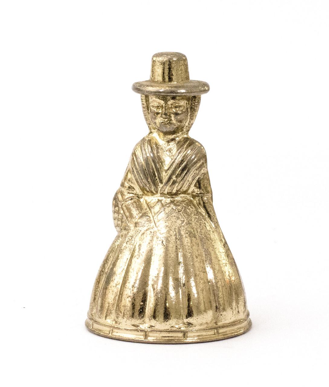Коллекционный колокольчик,  металл, бронзирование, Англия
