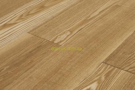 Массивная доска из дуба для пола  24 мм без  покрытия, палубный набор ширина 140 мм