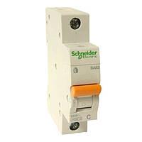 Автоматический выключатель Schneider Electric ВА63 Домовой, 25А, 1-полюсный 11205