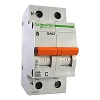 Автоматический выключатель Schneider Electric ВА63 Домовой, 10А, 1-полюсный + нейтраль 11212