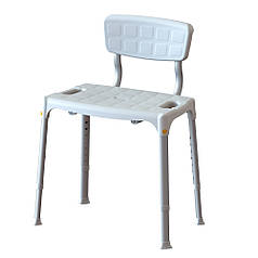 Стул для ванной и душа со спинкой, KING-SSB-14