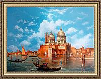 Картина Венеция 400х500 мм № 331 в багетной рамке
