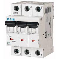 Автоматический выключатель PL6 Eaton, 25А, 3-полюсный PL6-D25/3
