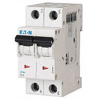 Автоматический выключатель PL4 Eaton, 10А, 2-полюсный PL4-B10/2