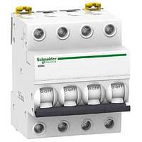 Автоматический выключатель Schneider Electric iK60N, 50А, кривая B, 4-полюсный A9K23450