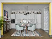 Прямая Кухня в скандинавском стиле, фото 1
