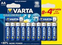 Батарейка VARTA HIGH Energy AA   LR6