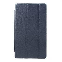 Чехол Tri-fold Silk Texture для Huawei MediaPad M3 8.4 синий