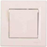 Выключатель одноклавишный кремовый Asfora белый Schneider Electric  (арт. EPH0100123)