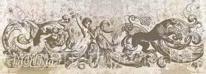 Потолочная фреска F 46-18