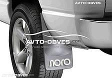 Брызговики Fiat Doblo 2014 - ... задние (2 шт. без креплений), резинопластик