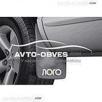 Брызговики Fiat Doblo 2014 - ... передние (2 шт. без креплений), резинопластик