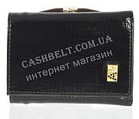 Маленький лаковый стильный женский кошелек с кожи высокого качественный ALBERTO FELINI art. E1799-3981Z черный, фото 1
