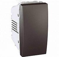 Выключатель одноклавишный серии Unica 10А MGU3.101.12
