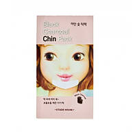 Локальная маска Etude House Black Charcoal Chin Pack