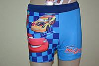 """Шортики детские """"Disney Pixar Cars"""" 2-7 лет голубые"""