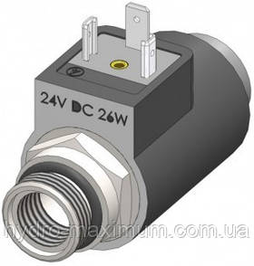 Электромагнитная катушка (соленоид) EMSG37 (ДУ6)