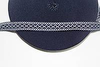 Т/О ромбик 20мм (50м) т.синий+белый, фото 1