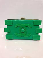 Женская сумка клатч Chanel Lego(Шанель лего) 305 клубный модный разные цвета