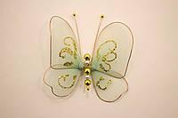 Бабочки декоративные маленькие 10*10 см морской бриз