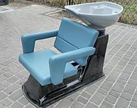 Парикмахерская мойка Аква c креслом Фламинго