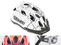 Шлем Trigger, серо/белый, размер 54-58 cm