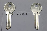 Заготовка ключа 45-1