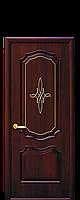 """Полотно дверь межкомнатная  ТМ""""Новый стиль"""" Рока гл гравировка gold"""