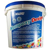 """Эпоксидная затирка """"Kerapoxy Design"""" Mapei 3кг"""