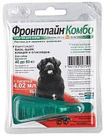 Капли Merial FRONTLINE Combo от блох и клещей для собак 40-60 кг