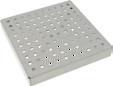 Решетка quadrato гладкая для трапа 142 с верхней частью 200х200 мм. из нержавеющей стали AISI 304