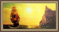 Картина Ласточкино гнездо. 330х700 мм. № 391