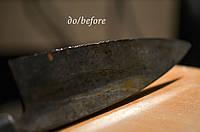 Выравнивание и ремонт режущей кромки