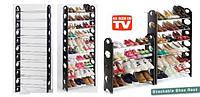 Органайзер полка для обуви Stackable Shoe Rack