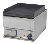 Настольная электрическая жарочная поверхность Kogast EZ-40 R рифленая чугунная, 400х600х340 мм