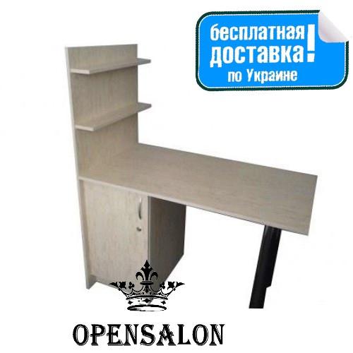 Манікюрний стіл Класік з полицями