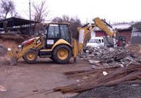 Аренда гидромолота. Демонтаж бетона
