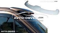 Солнцезащитный козырек для VolksWagen Crafter 2011-...  (установка на герметик)