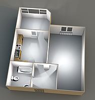 Однокомнатные квартиры__ 39,9 кв.м.__12 этаж. __29500 Оформление 0%.
