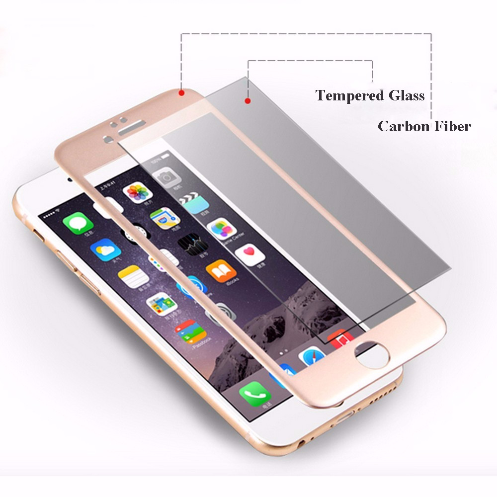 3D (мягкое) Закаленное Стекло для Apple iPhone 6 6 S