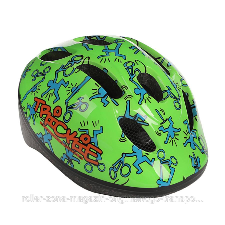 Шлем Author Trickie зеленый , размер 49-56 cm