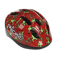 Шлем Author Trickie красный, размер 49-56 cm, фото 1