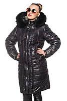 Стёганое женское пальто р.52-64