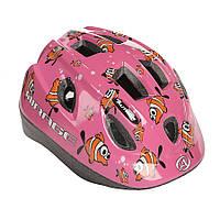 Шлем Mirage, розовый с рыбками, размер 48-54 cm, фото 1