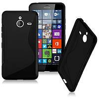 Чехол Microsoft Lumia 640XL силикон TPU S-LINE черный