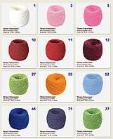 Хлопковые нитки для вязания 50г