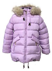 Зимняя курточка на девочку HIKIS Польша размер 116-140