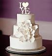 Топпер для свадебного торта, украшение для торта, фото 2